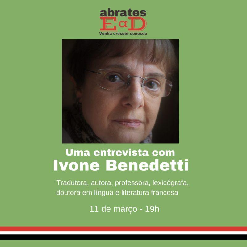 rosto de Ivone Benedetti, tradutora literária